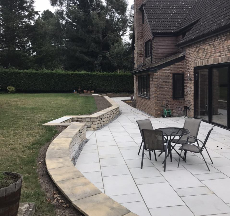 Landscaping – Patio, Garden Paths